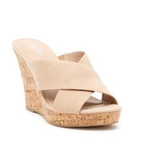 Charles by Charles David Latrice Wedge Mule Sandal